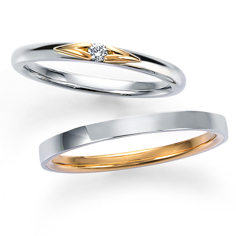 モニッケンダムの人気ハート結婚指輪
