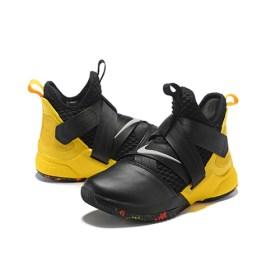 Lebron soldier 12 black-yellow