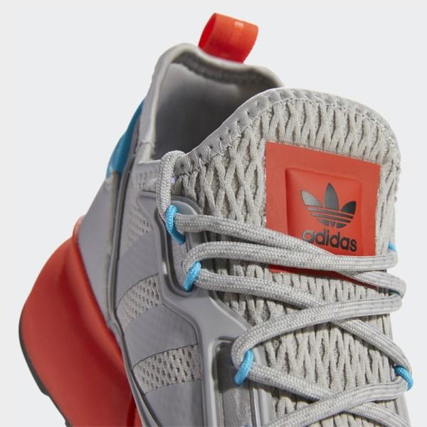 adidas ZX 2K Boost Grey Signal Cyan