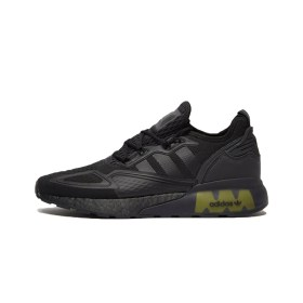 Adidas ZX 2K Boost Core Black Solar Yellow