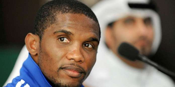 Samuel Eto'o victime d'un accident de circulation