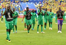 Sénégal devant l'Allemagne