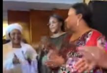 KING FAHD Palace Hôtel: Baaba Maal fait danser Marieme Faye Sall. Des Premières dames d'Afrique ont appelé mardi à « combattre la souffrance