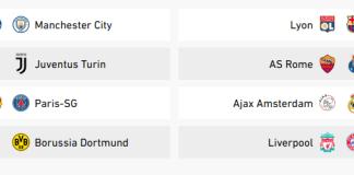 Tirage Ligue des Champions: PSG vs Man U, Barca vs Lyon ... en autres affiches des 1/8 de finales