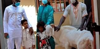Youssou et la famille Ndour