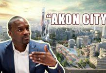 Akon City : Akon va lancer son projet de ville écolo, ce lundi