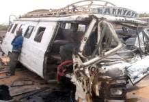 Magal : Un accident d'une rare violence à la sortie de Thiès (Photos)