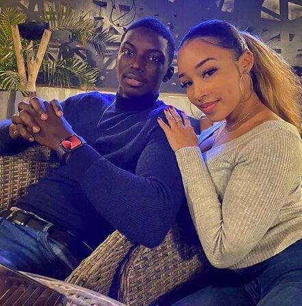fils de Aly Ngoye Ndiaye et de sa nouvelle copine