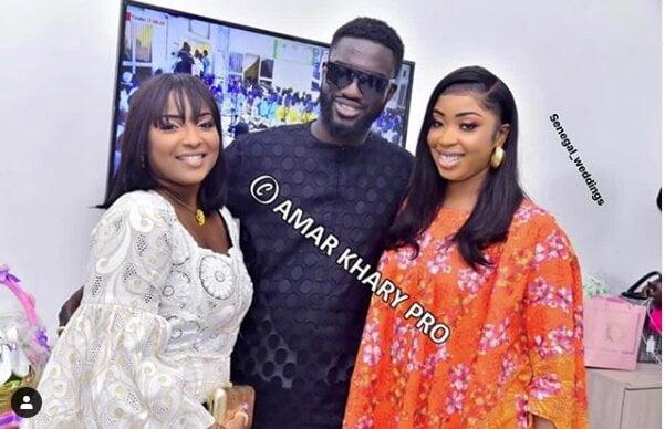 Ndiogou Mbaye en toute complicité avec ses deux épouses « Awo ak Niarel »
