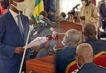 Ministère de l'intérieur : La passation de service entre Aly Ngouille Ndiaye et Antoine Felix Abdoulaye Diom