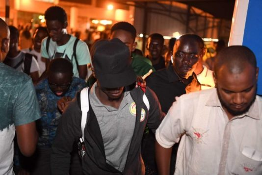 Arrivée des «Lions» à Khartoum : Sadio Mané en vedette (06 Photos)
