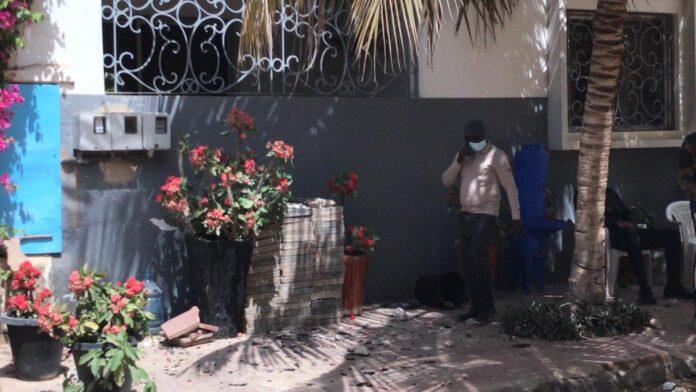 Manifestations des partisans de Sonko : La maison de Mahmoud Saleh saccagée (photos)