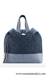 Chanel Denim Backpack