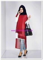 Alvina-4581-new-multi-sifon-2li-tunik-bordo-79,50 TL