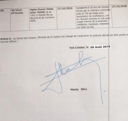 GRACE PRÉSIDENTIELLE : POURQUOI KHALIFA SALL N'EST PAS GRACIÉ