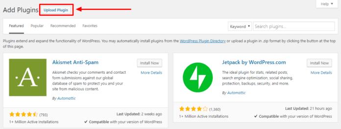 Cara Install Plugin WordPress - 3