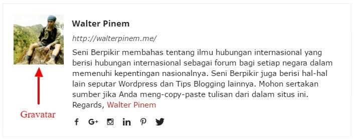 Cara Membuat Gravatar di WordPress - 1