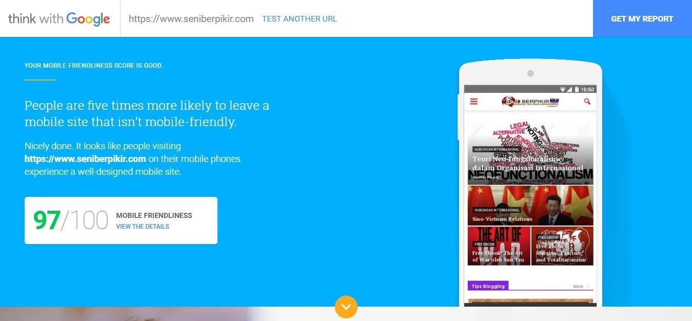 ThinkWithGoogle - Cek Kecepatan dan Kekuatan Mobile-Friendliness Website Anda - 3