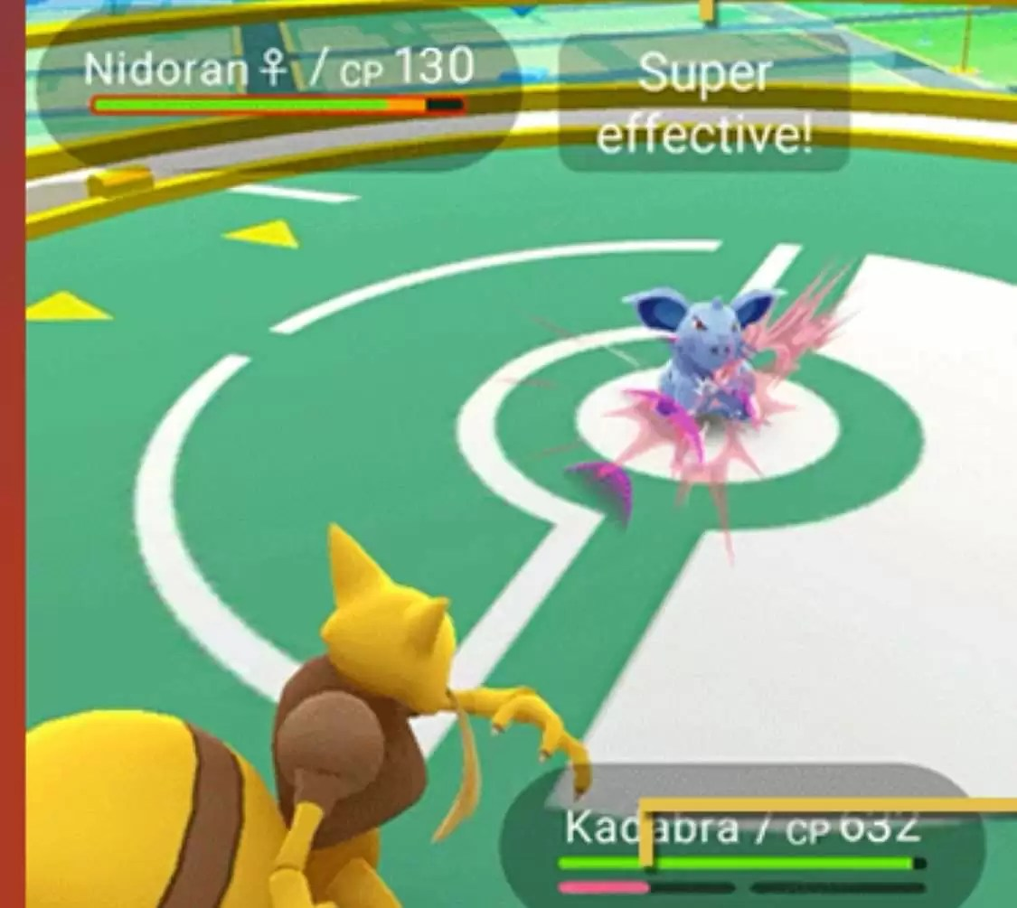 cara bermain pokemon go - gym battle