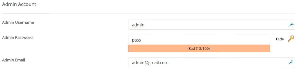 cara membuat blog wordpress self-hosted - admin account