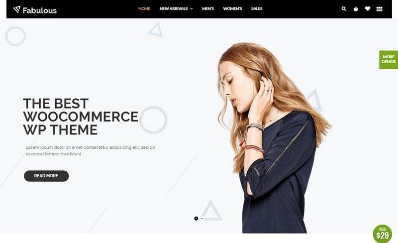 theme WordPress untuk toko online - nitro