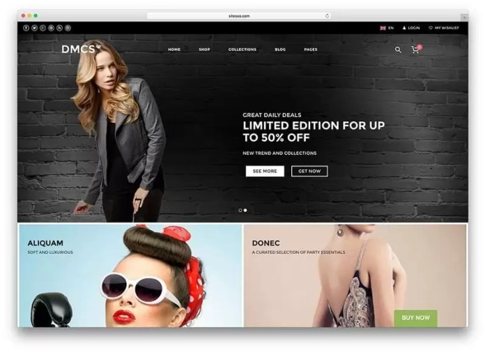 theme WordPress untuk toko online - the retailer