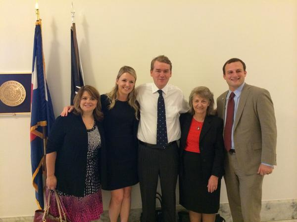 The We Work For Health Contact Group Meets With Senator Bennet