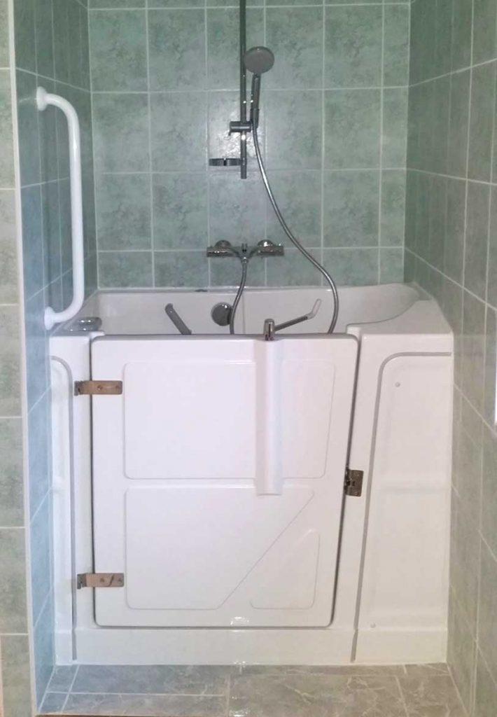 baignoire porte laterale baignoire