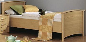 schönes Seniorenbett - Buche natur dekor