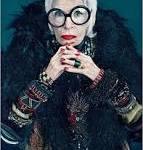 """Moda-""""Garota Propaganda"""" de 93 anos."""