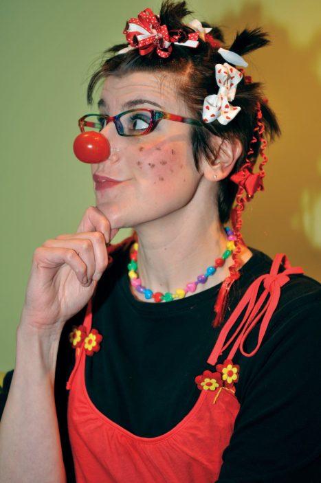 Rebecca Ataya Lang as Ruby. Photo: Russ Smith