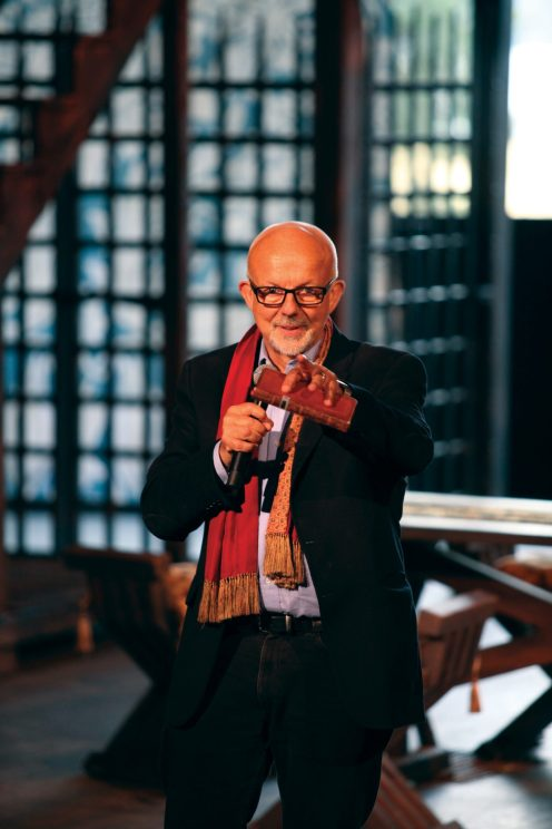 Vancouver's Bard on the Beach Shakespeare Festival's charismatic creator and Artistic Director Christopher Gaze on Stage.