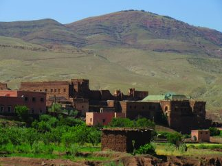 Now crumbling Pasha Glaoui's kasbah was a commanding presence.