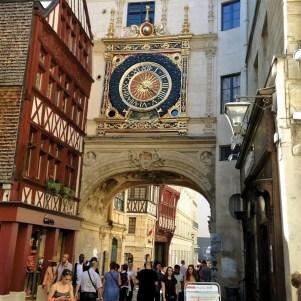 Rouen' Medieval Clock