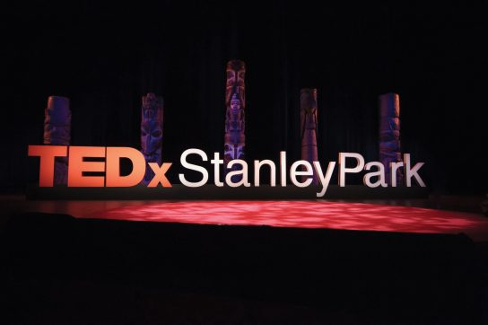 TEDxStanleyPark stage 2017
