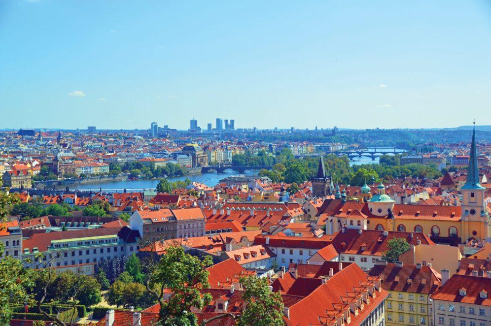 Prague is an enchanting historic city.
