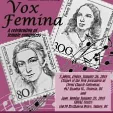 """Vox Femina"" Celebration of 5 Centuries of Female Composers"
