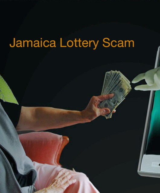 Senior Online Safety - Jamaican Lottery Scam