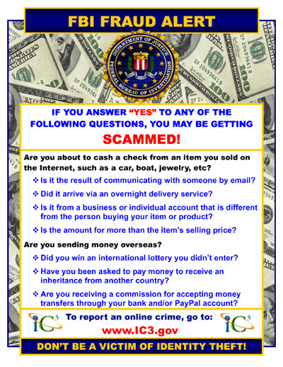 FBI Email Scam - Senior Online Safety