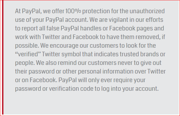 Red Folder - PayPal Statement