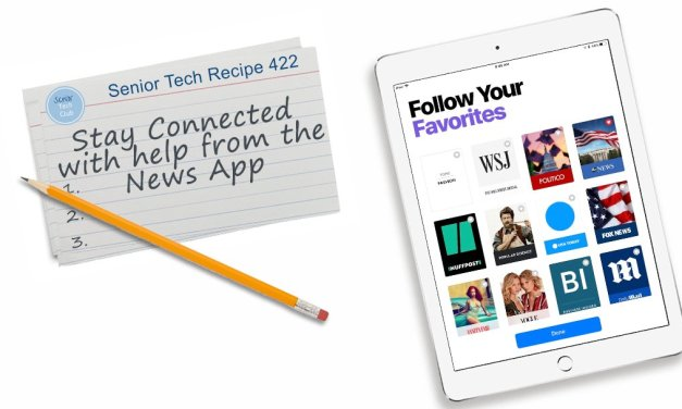 Stay Connected with Help from the News App