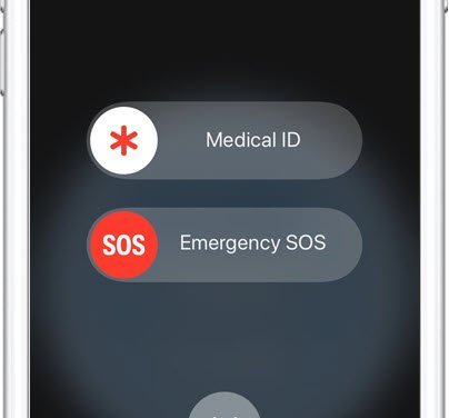 iPhone SOS to Make 911 Emergency Calls