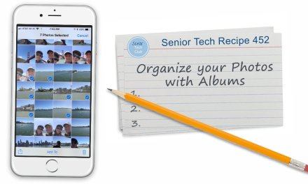 Organizing your Photos with Albums