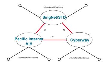 Singapore Internet Backbone