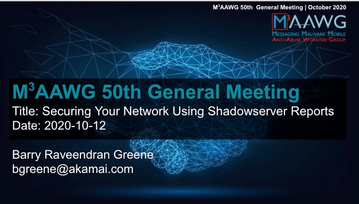 Securing Your Network Using Shadowserver Reports