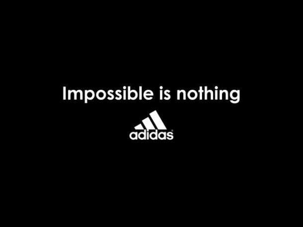 De adidas aprendí: impossible is nothing