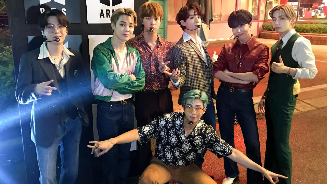 Los idols de BTS