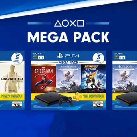 PS4 comenzará a vender tres nuevos Mega Packs en Latinoamérica a finales de octubre
