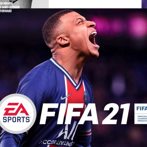 fifa 21 portada Kylian Mbappé