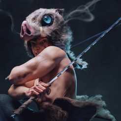 Demon Slayer: Mira esta impactante versión realista de Inosuke